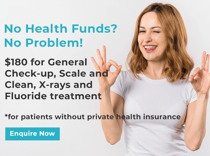no health fund promo dentist leichhardt
