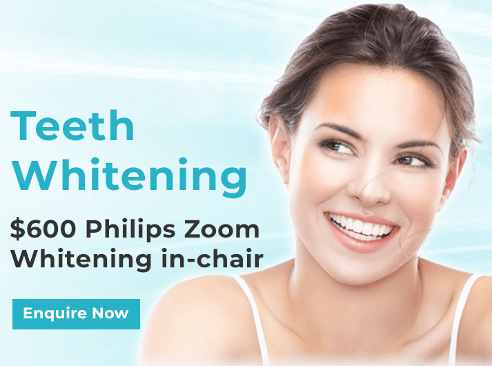 teeth whitening banner dentist leichhardt