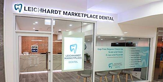 Leichhardt Marketplace Dental Front View Dentist Leichhardt