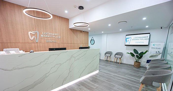 Leichhardt Marketplace Dental Reception Area Dentist Leichhardt
